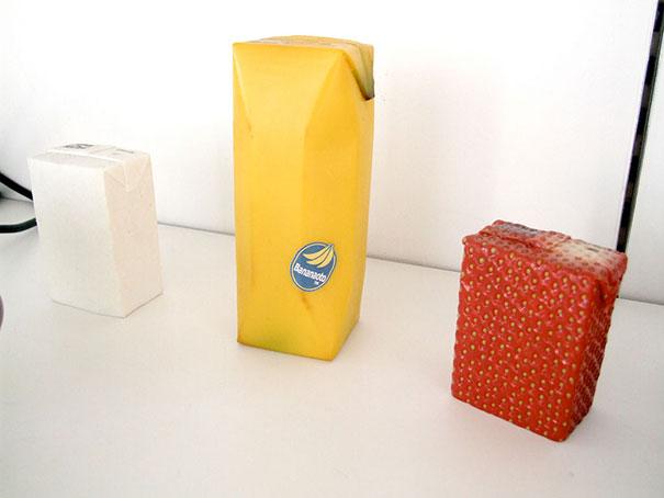 kreatív csomagolási ötlet