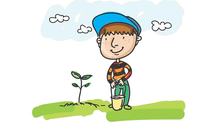 kertészkedés gyerekkkel
