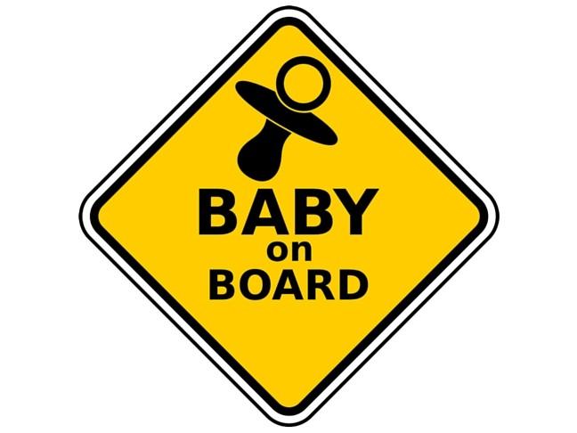 warning baby on board