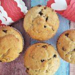 Banános muffin csokicseppel