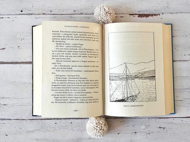 minimalista könyvjelző