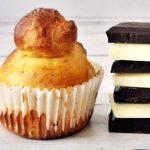 Luxus reggeli: csokis briós muffinformában