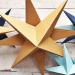 Csillagok, csillagok: ragyogó dekoráció papírból