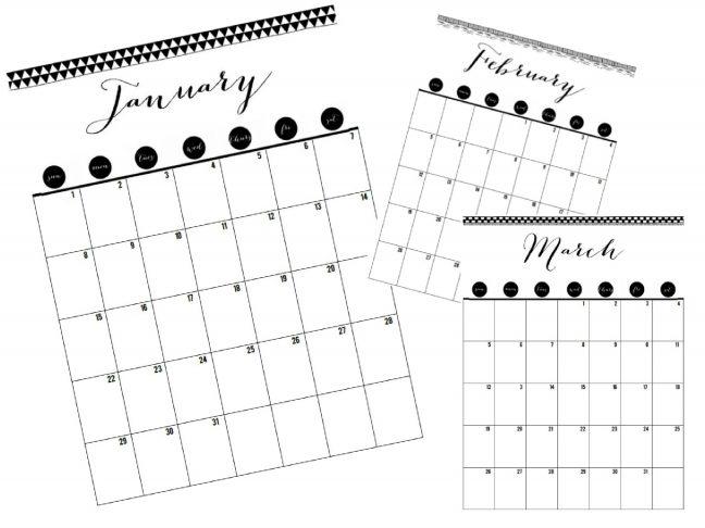 rendezett naptár