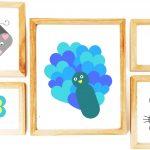 Kézműves Valentin-nap: állatfigurák papírszívekből