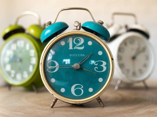 idő és időbeosztás