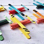 Szárnyakat adunk vágyainak: repülők ruhacsipeszből