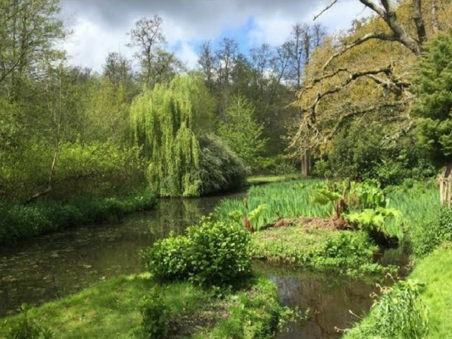 spring gardens in UK