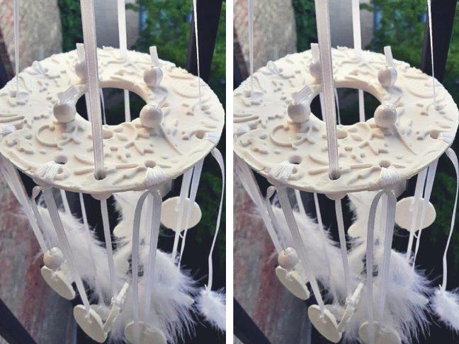 porcelángyurma függő
