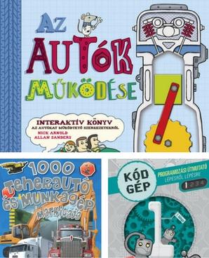 interaktív könyvek