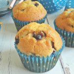 Összedobálós süti: áfonyás-csokis muffin