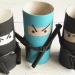 Kicsi harcosoknak: papír nindzsák akcióban