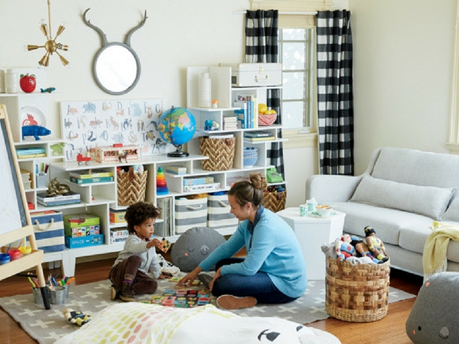 How To Create A Kid Friendly Living Room?