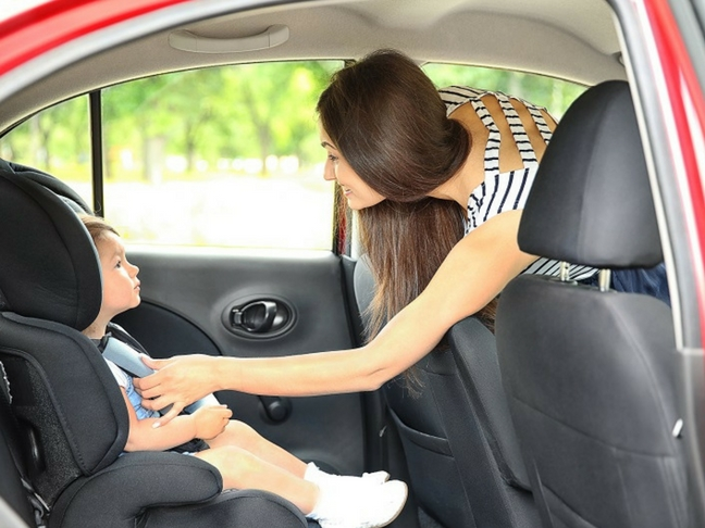 car seat fitting