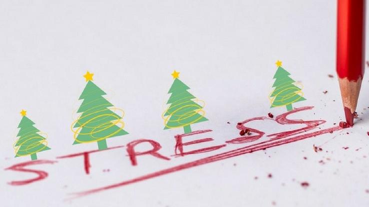 karácsonyi stressz