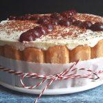 Nyáriasított klasszikus: sütés nélküli Fekete-erdő torta