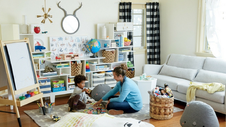 kid-friendly living room