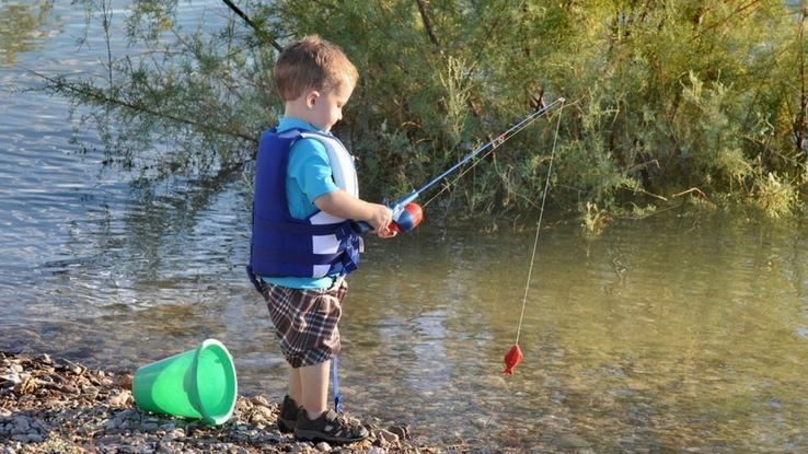 kids to fish