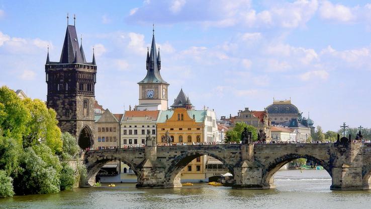 family adventure in Prague