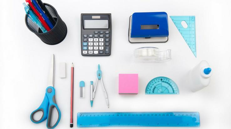 felszerelés iskolatáskában